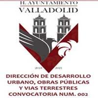 DIRECCIÓN DE DESARROLLO URBANO, OBRAS PÚBLICAS Y VIAS TERRESTRES CONVOCATORIA NUM. 002