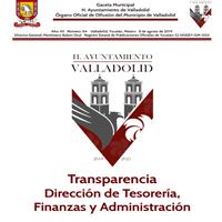 TRANSPARENCIA DEPARTAMENTO DE ADMINISTRACION Y FINANZAS