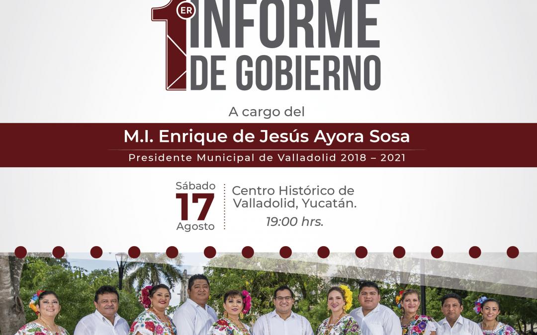 1er Informe de Gobierno de Valladolid