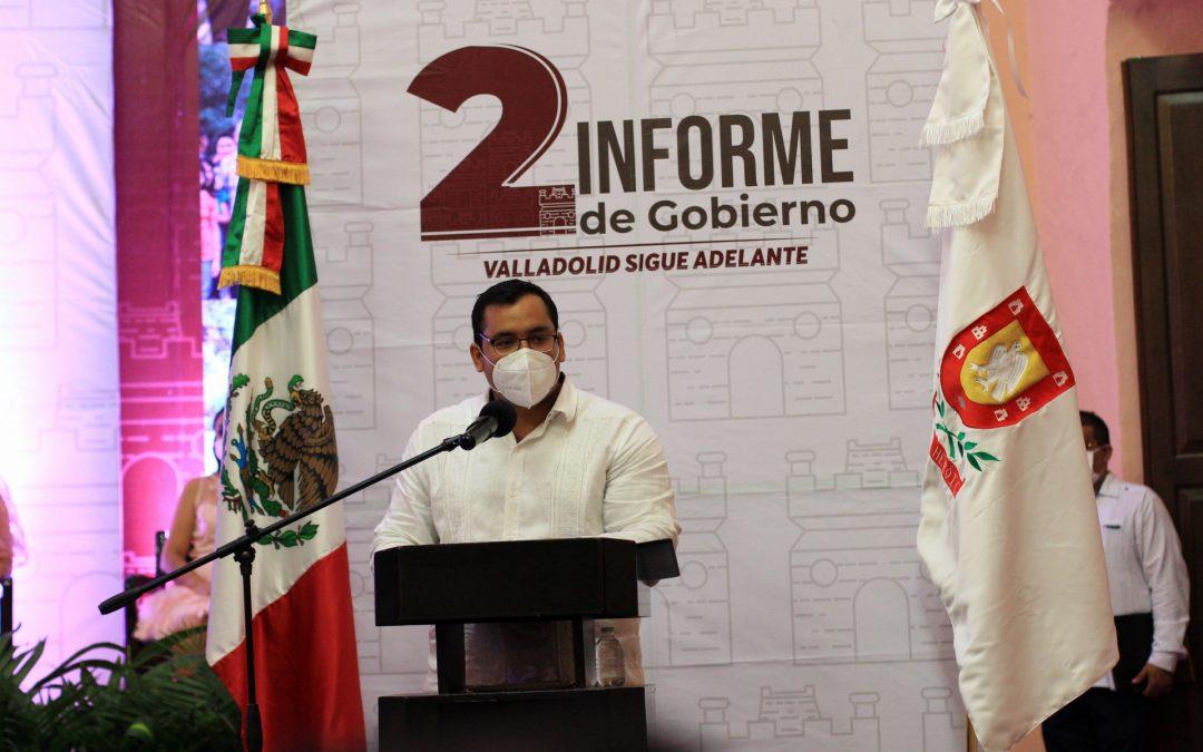 «Valladolid sigue adelante, a pesar de los desafíos que se presentaron»: Alcalde, Enrique Ayora Sosa